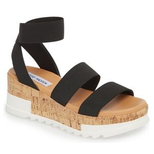 Bandi platform wedge sandal Steve Madden